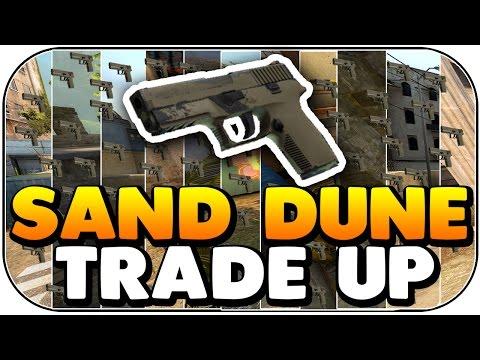 1,000 p250 Sand Dune TRADE UP (CS:GO)