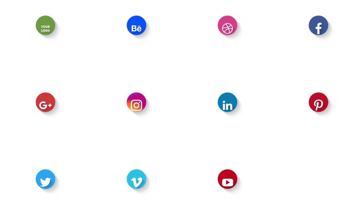 Social Media Logo Intro/Outro/Promotion - YouTube