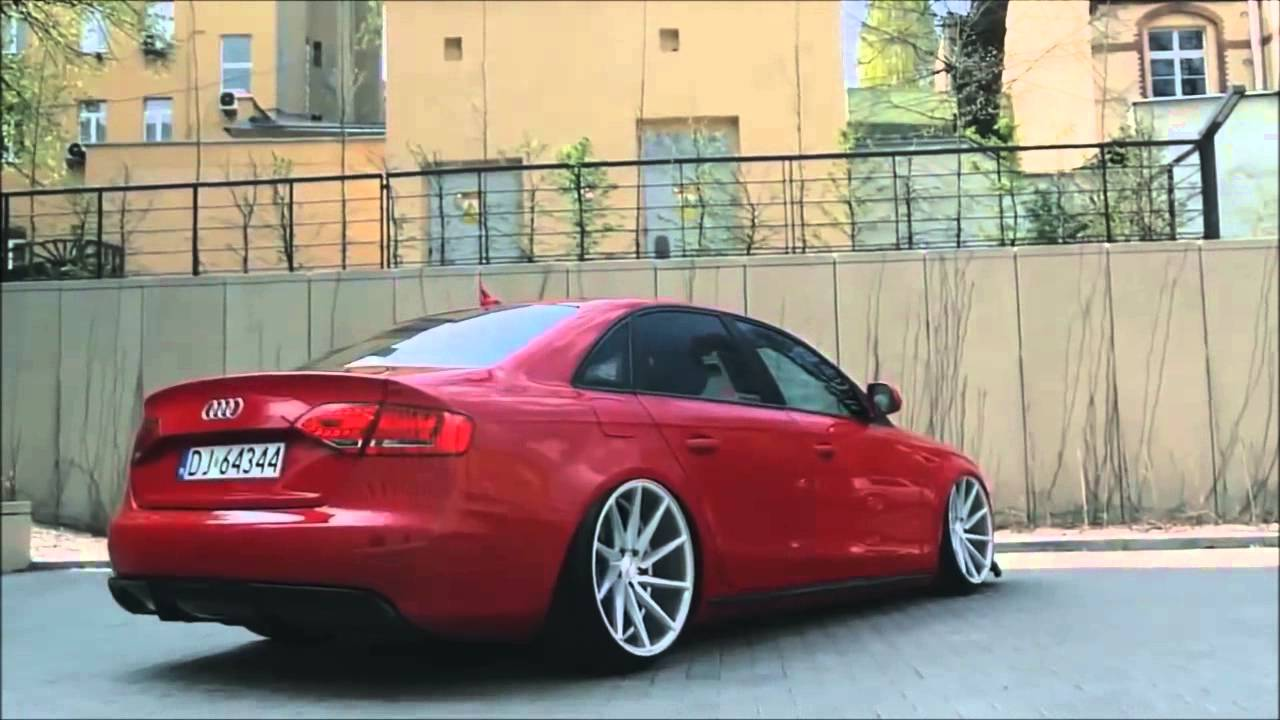 Audi A4 B8 Bagged Vossen 20 Cvt Concave Wheels Poland Video 2 Youtube