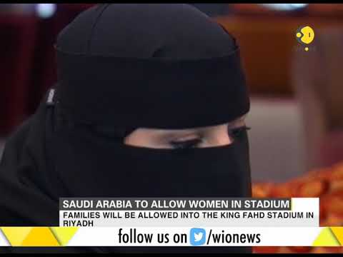 First time ever, Saudi Arabia to allow women in stadium