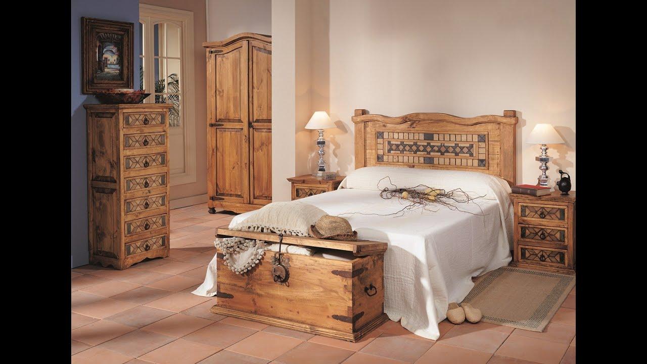 Catalogo de mueble r stico mejicano macizo gran cantidad for Muebles para dormitorios