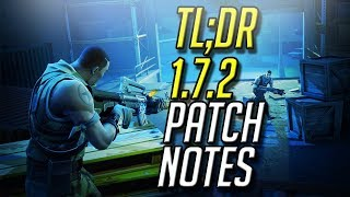 TL;DR 1.7.2 Patch Notes - Fortnite Battle Royale Update