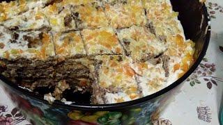 Печеночный тортик!!! Из куриной печени.. Очень вкусно!