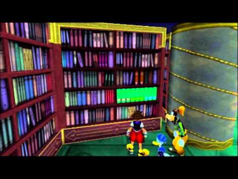 Kingdom Hearts FM [PS3] Playthrough #065, Hollow Bastion (3/8): The Library and the Emblem