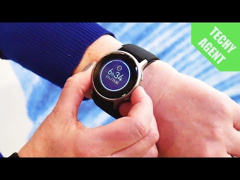 Omron HeartGuide WatchHands on at CES 2018
