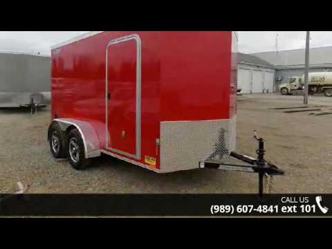 2017 Legend Trailers Cyclone V-Nose Steel 6X13STVTA35  - ...