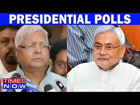 Lalu Prasad Yadav Says Would Insist Nitish Kumar To Rethink His Support For Presidential Polls