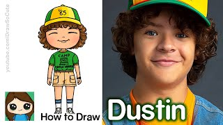 How to Draw Dustin from Stranger Things