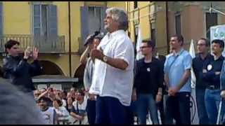Grillo a Lodi - 21.05.2013 - I parte