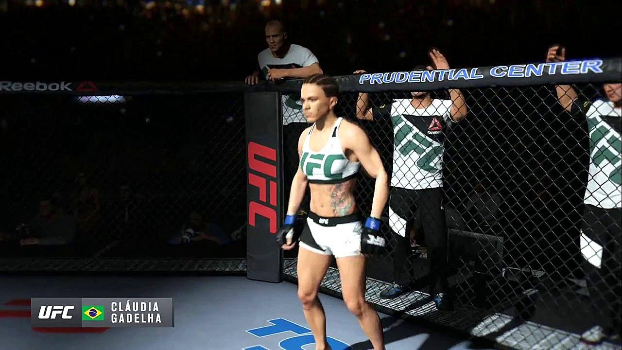 EA Sports UFC 3 Gameplay Joanna Jedrzejczyk vs Claudia