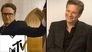Kingsman Church Scene: Behind-the-Scenes With Colin Firth & Matthew Vaughn | MTV