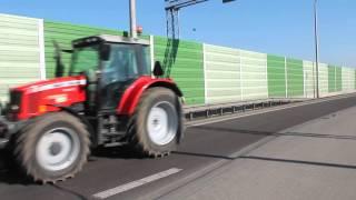 Protest rolników na krajowej 2