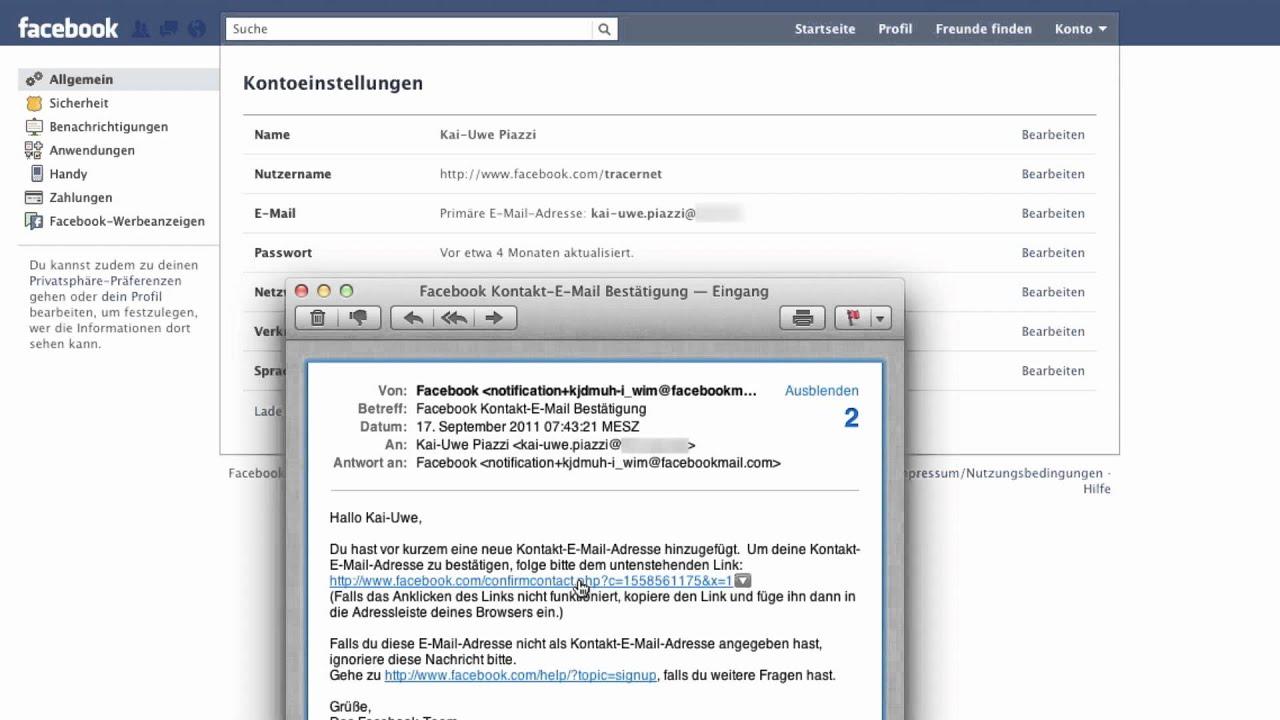 Wie Kann Man Seine Email Adresse ändern