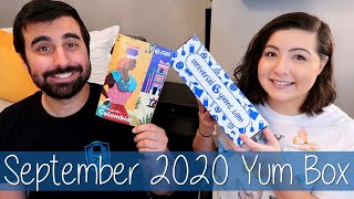 September 2020 Universal Yums Yum Box Unboxing and Taste Test | Colombia | Yum-Yum Box