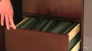 Valona Modern Custom 2-drawer Filing Cabinet - Dark Cherry - Product Review Video