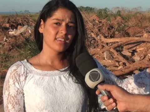 A comunidade do bairro palmeiras das guerobas sofre com os lixos jogado no setor