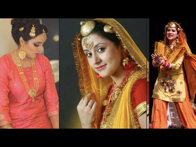 Punjabi traditional jewellery || Punjabi jewellery with names || Kaur Trends