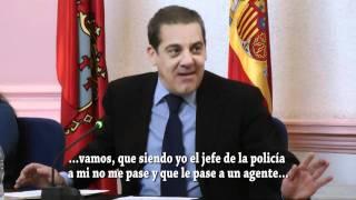Lázaro Mellado, le gustaría ser acosado por la concejala de seguridad ciudadana