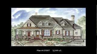 Craftsman/mountain Style House Plans 1,729 S.f. - 2,587 S.f. By Garrell Associates, Inc. Ga 82
