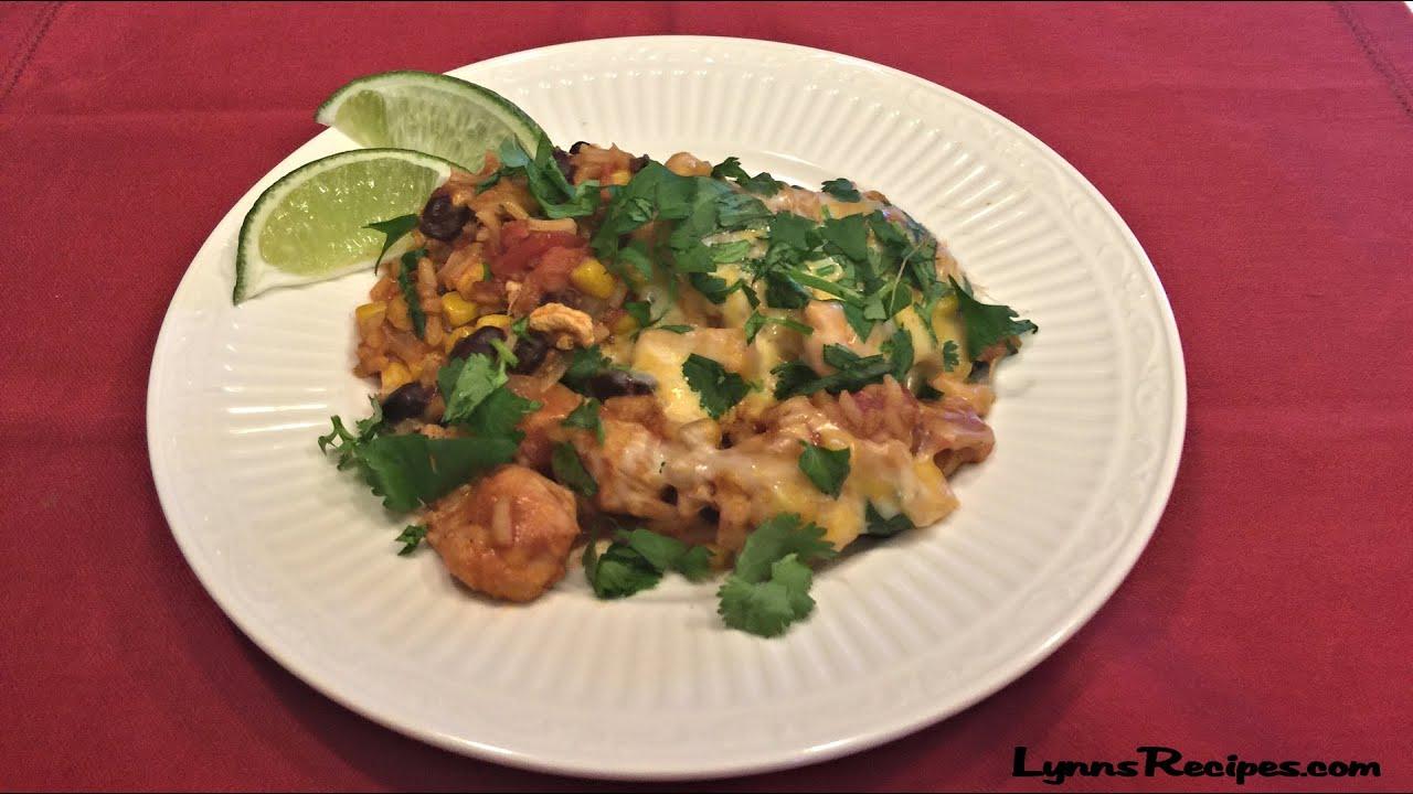 30-Minute Cheesy Mexican Rice SkilletLynns RecipesYouTube