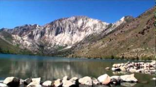 Convict Lake in Mammoth Lakes CA 1080 HD Best fishing spot in Sierra Nevadas