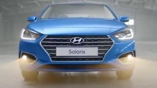 Обзор Hyundai Solaris обновленный седан 2017 года рестайлинг смотреть