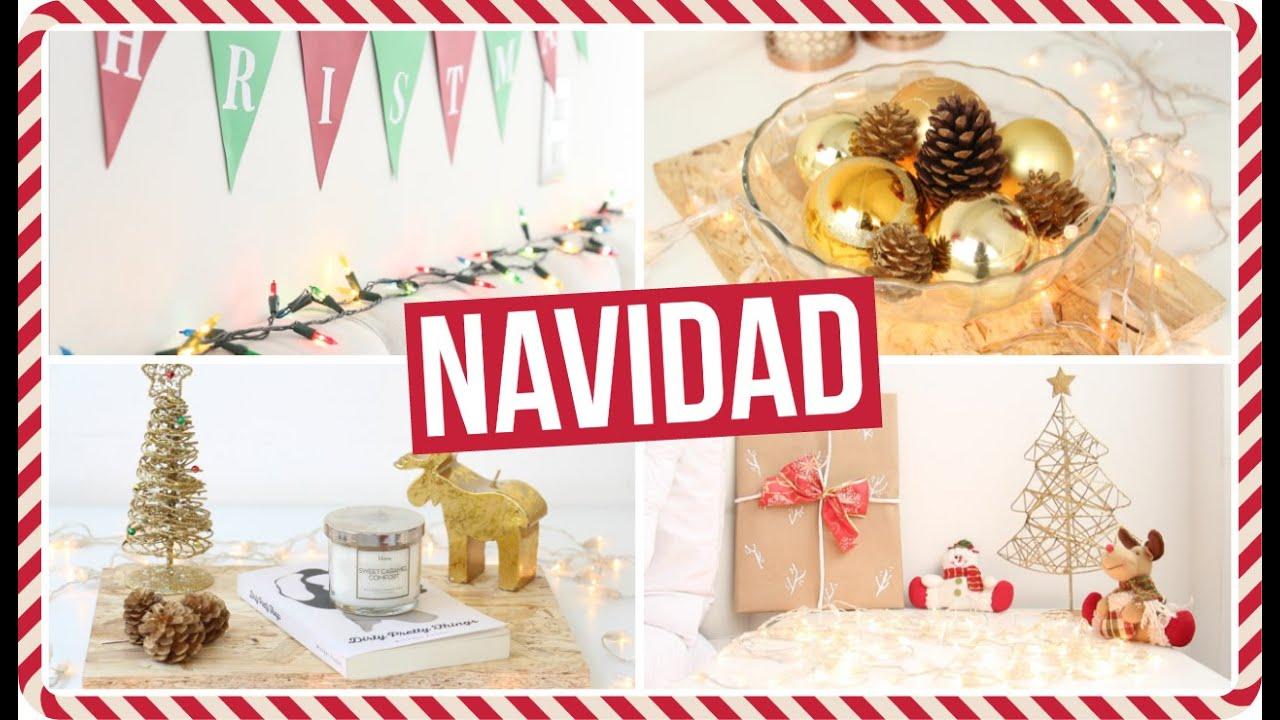 C mo decorar tu cuarto para navidad diy tips y trucos for Ideas decoracion navidad colegio