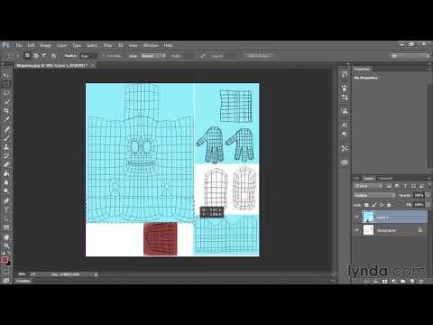 6.4 Текстуры и материалы. Создание текстур в Photoshop