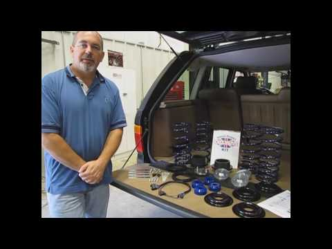 Air-to-Coil Suspension Conversion Kits for Range Rovers and Land Rovers