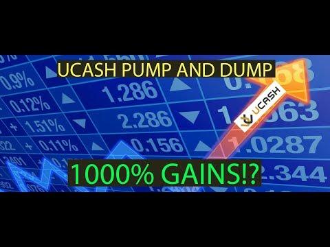 U.CASH (UCASH) - PUMP AND DUMP COIN! 1000%+ GAINS?