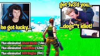 TFUE *FULL TOXIC* at BUGHA after DESTROYING TRIO 1V3! (Fortnite)