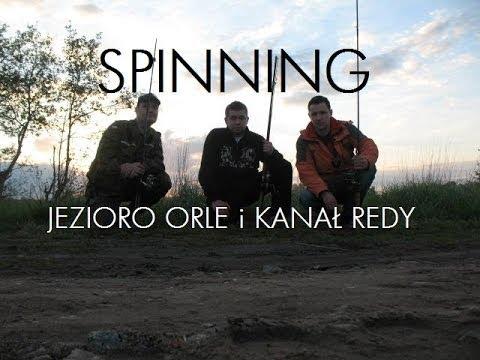 Wędkarskie Eskapady - Spinning j.Orle i kanał rzeki Redy.