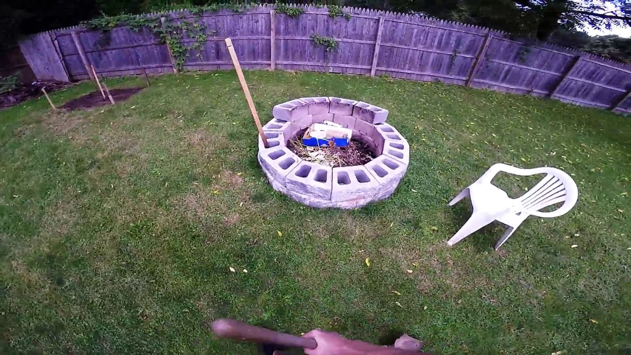 making horseshoe pit youtube