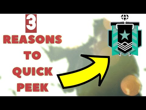 How to Become A BETTER Player With FAST PEEKING- Rainbow Six Siege
