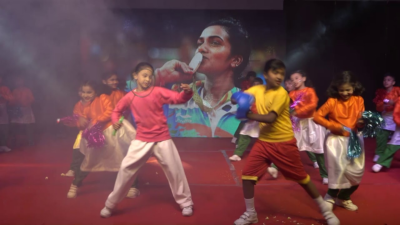 Jai Ho Dance By Mount Litera Zee School Manikonda Youtube