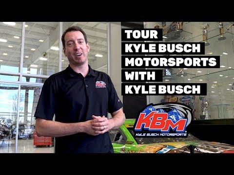 Dan Joyce - Take A Tour of Kyle Busch Motorsports with Kyle Busch