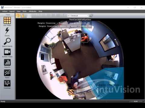 Hikvision Heat Map camera