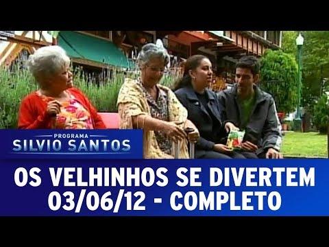 Os Velhinhos Se Divertem | Câmeras Escondidas (03/06/12)