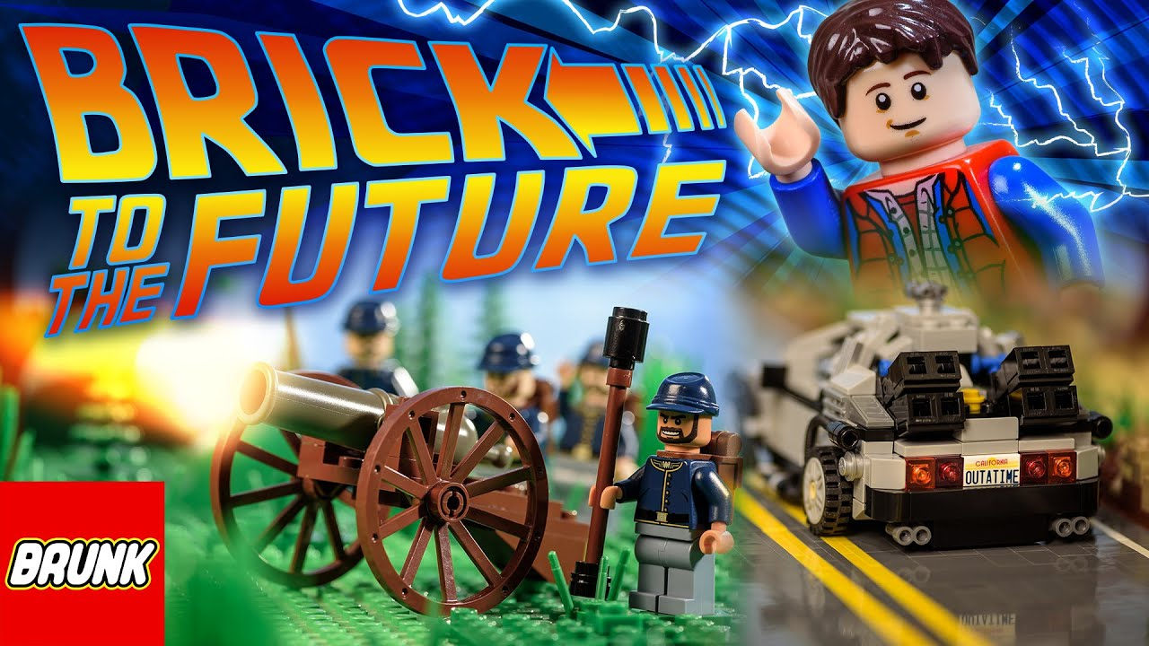 Zurück in die Zukunft Marty McFly Back to the Future Brick Creator Minifigure
