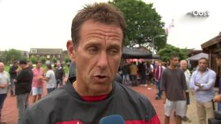 Go Ahead Eagles speelt gelijk in honderdste oefenduel in Terwolde - Interview Leon Vlemmings