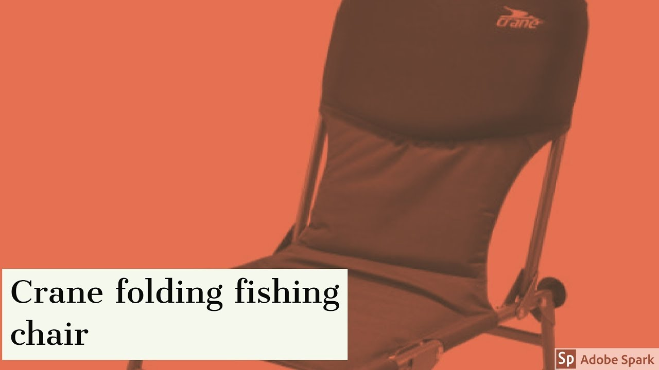 Fishing Chair Crane Plans For Adirondack Chairs With Cooler Folding Unboxing Youtube