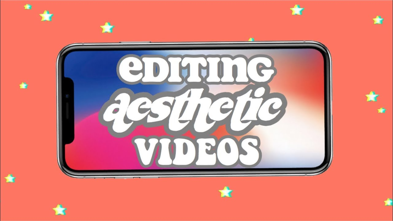 how to edit aesthetic videos on an iPhone!