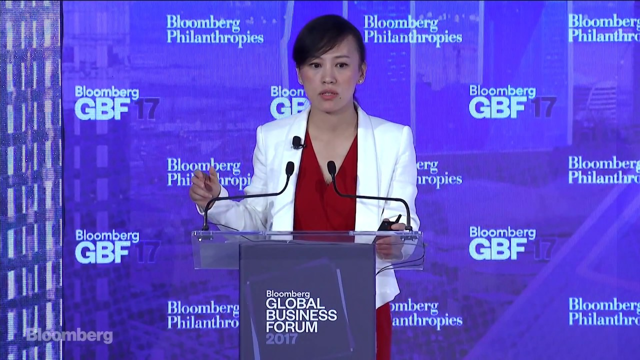 Didi Chuxing's Jean Liu on The Future of Cities - YouTube