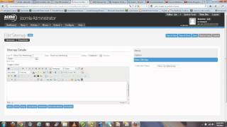 5 Minute Joomla Tutorial - How To Create Dynamic Sitemap For Joomla With Xmap