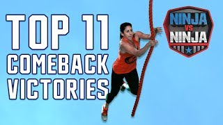 Best Runs: Top Comeback Victories | American Ninja Warrior: Ninja Vs. Ninja
