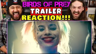 BIRDS OF PREY | Official TRAILER - REACTION!!!