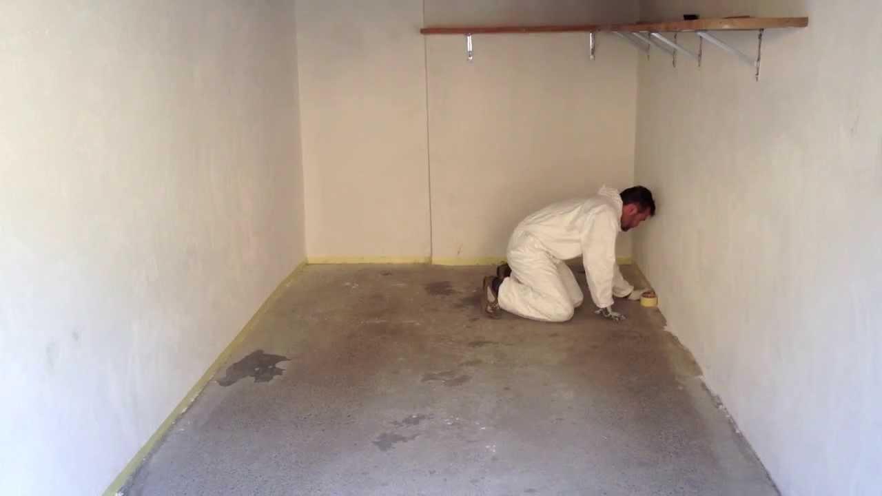Pavimento In Resina Epossidica Prezzo : Resina per cemento youtube