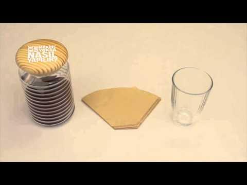 Kahve Makinası Olmadan Filtre Kahve Nasıl Yapılır