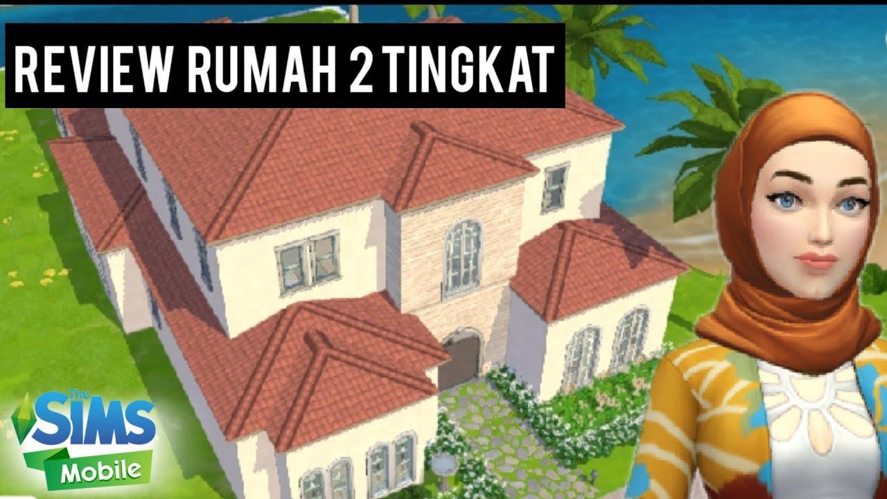 Review Rumah 2 Tingkat Di The Sims Mobile The Sims Mobile Indonesia Youtube