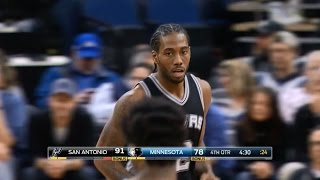 Kawhi Leonard 31 Points   13th Consecutive Road Win for Spurs   12.06.16